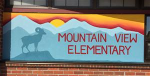 Mt View sign
